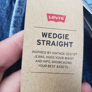 Levi's Jeans - Levi's Button Fly high rise Wedgie Straight Jean
